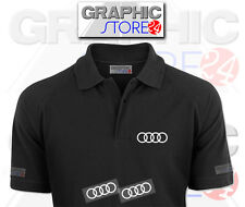2x AUDI Iron on Clothing Decals
