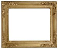 20 x 24  Picture Frame Hand Applied Gold Leaf Finish real beauty Baroque Frame