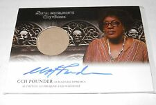 Mortal Instruments Autograph Costume Trading Card #AWI-CCH Pounder Skull Variant