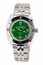 Man's Fashion VOSTOK Russian military Amphibian diver 200m. auto watch VA 150348