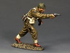 King And Country Ww2 británico Commando disparo Oficial D día dd190