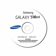 NEW Samsung Galaxy Tablet Tab 4-7.0 (Wi-Fi) (SM-T230) User Manual on CD (eBook)