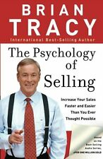 *New Paperback* THE PSYCHOLOGY OF SELLING: Increase Your Sales by Brian Tracy