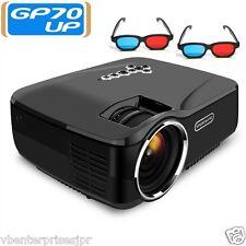 2016 GP70UP Smart Mini Led Android Projector 1200 Lumi Wifi BT HDMI USB
