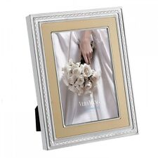 Vera Wang by Wedgwood – Silver Plated With Love Gold 4 x 6 Photo Frame