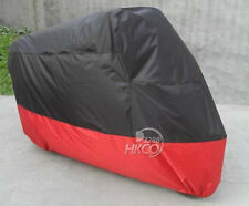 XXL Black+Red Motorcycle Cover For Honda Shadow Spirit ACE Aero VT 750 1100