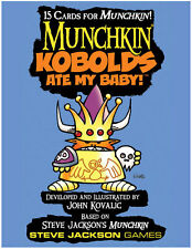 Munchkin Kobolds Ate My Baby Card Game Booster Adds 15 Cards Steve Jackson Games