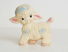 Vintage 50s 60s Lamb Rubber Squeaky Toy Sun Rubber Co.