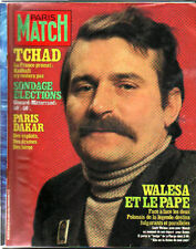paris match n°1652 lech walesa jimmy connors kadhafi