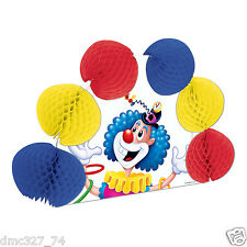 BIG TOP Circus CARNIVAL Party Decoration JUGGLING CLOWN Pop Over CENTERPIECE