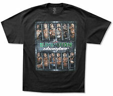 WWE WRESTLING - ELIMINATION CHAMBER 2012 BLACK T-SHIRT NEW OFFICIAL ADULT 2XL