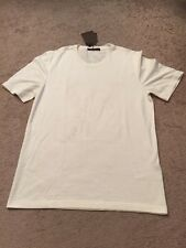 Louis Vuitton Men's Off White LV Logo T-Shirt Size XXL ***NEW***