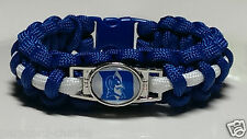 Duke University; Blue Devils Handmade Paracord Bracelet, lanyard or key chain