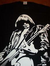 JOHNNY RAMONE ARMY Playing Guitar THE RAMONES T-Shirt SMALL NEW Punk