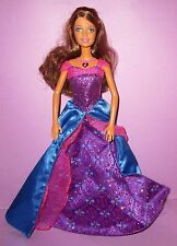 Barbie Diamond Castle 2008 Doll Alexa Brunette Dressed Lovely SINGS HTF