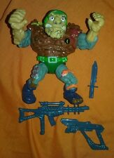 Teenage Mutant Ninja Turtles General Traag Vintage Figure Complete TMNT