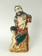 Antique CHINESE BISCUIT PORCELAIN FIGURINE STATUE - Signed - JINGDEZHEN