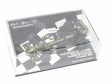 1/43 Lotus Renault 98T Bruno Senna  Brazilian GP 2004 Commemorative Lap