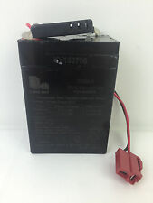 Long Way 3FM4.5 Sealed Lead Acid Battery with Connector! 6 VOLT Kid Trax