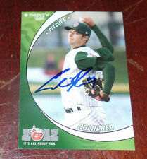 COLIN REA SIGNED AUTO'D 2012 FORT WAYNE WIZARDS CARD SAN DIEGO PADRES 2015
