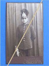 Foto Uniform Portrait Hartpappe Schwedische Armee #1