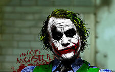 Poster A3 Joker Batman 06