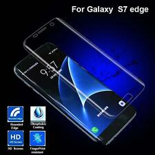 1pc CURVED CLEAR PHONE COVER SCREEN PROTECTOR FOR SAMSUNG GALAXY S7 EDGE Hot Jc