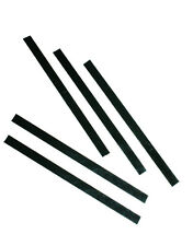 Black P-Tex (PTex) Snowboard or Ski Repair 5x15cm Strips