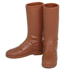 "Infirmary Exclusives CHP Style Tall Brown Boots for 12"" Figures 1:6 (1249f2)"