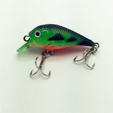 NEW Plastic Fishing Minnow Lures Bass Crankbait Crank Bait 5.7g/5cm Tackle QGY21