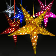 Big-String Hanging Star Christmas  Party Decoration Christmas Tree-Ornament 30cm