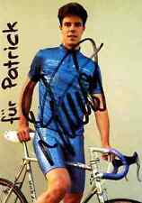 Lukas Zumsteg Team RV SULZ Signed Autographe cycling Signé champion suisse swiss