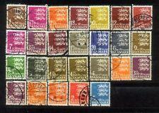Danmark  Nice Stamps Lot  6