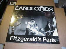 LP:  THE LANDLORDS - Fitzgerald's Paris 80's PUNK SEALED NEW Happy Flowers