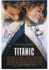 SIGNED TITANIC MOVIE  POSTER PRINT 12x8