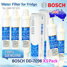 5 Pack X Bosch EXTERNAL FRIDGE FILTER  FOR KAN58A40AU/03 and More Others  DD7098