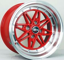 4 DRIFT L372 DR4 RIMS 15x8 4x100 AGGRESSIVE WHEEL STANCE STRETCH JDM WHEELS C