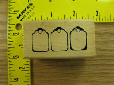 Rubber Stamp Tag Border by Stampers Anonymous Stampinsisters #2798