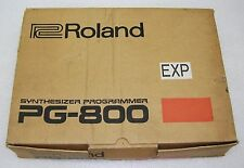 Roland PG-800 Programmer - (For MKS-70 - JX-8P - JX-10) - New in Box -