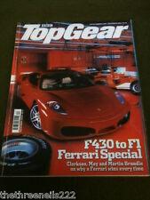 TOP GEAR #135 - FERRARI SPECIAL F430 TO F1 - DEC 2004 - HOLOGRAM COVER