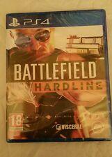 Battlefield hardline ps4 hard line Playstation 4 PAL UK NEW SEALED