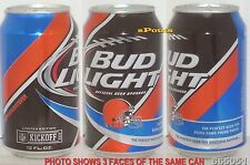 2015 CLEVELAND BROWNS BUD LIGHT NFL KICKOFF BEER CAN FOOTBALL DAWG POUND PRIDE