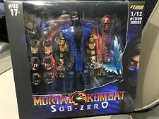 (In stock)  Storm Collectables Mortal Kombat Sub Zero 1/12 action figure