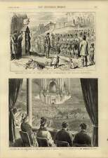 1876 London Sunday School Choir Concert Galatz Romania Aubade
