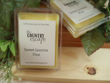 Sweet Jasmine Vine Scented Soy Wax Clamshell Melt Tart- 2wks of Fragrance