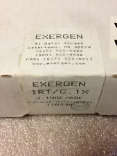 EXERGEN IRT/C . 1X, IRT.1X,  J-140F/60C, 110530, Infranced Thermocouple, #1172B