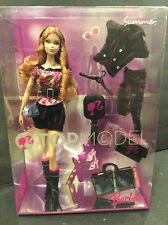 Barbie Doll TOP MODEL SUMMER Black Pink Outfit Boots NRFB MPN 3233-0910