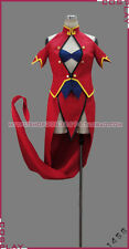 Blazblue Litchi FayeLing Halloween Red Dress Suit Cosplay Costume S002