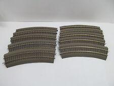 MES-49499 Roco Line H0 10 St. Gleise mit Bettung mit Gebrauchsspuren,