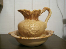 VINTAGE BOWL AND PITCHER
